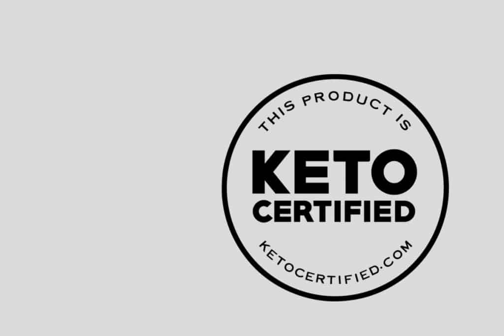 This is the certification label that you must pay for to add to your product - What Does Keto Certified Mean