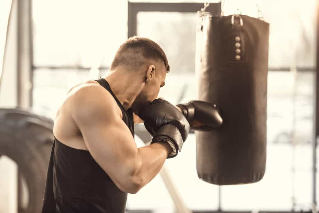 Practicing on the Bag Daily for Results - Post on Is a Punching Bag a Good Workout