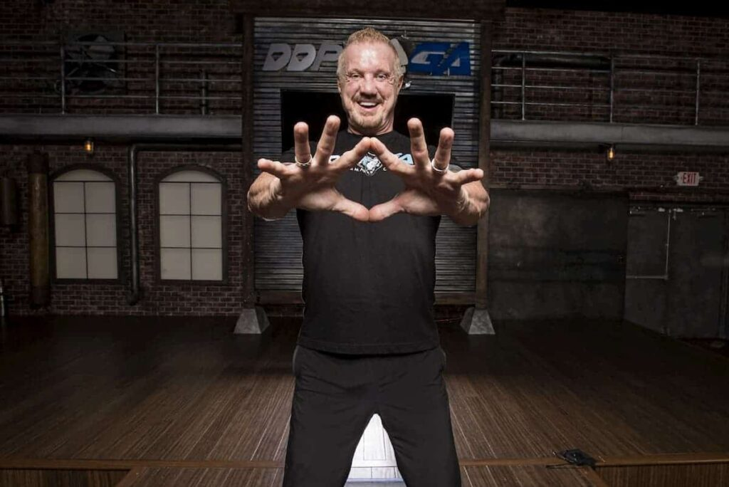 Diamond Dallas Page from the WWE - What is DDP Yoga