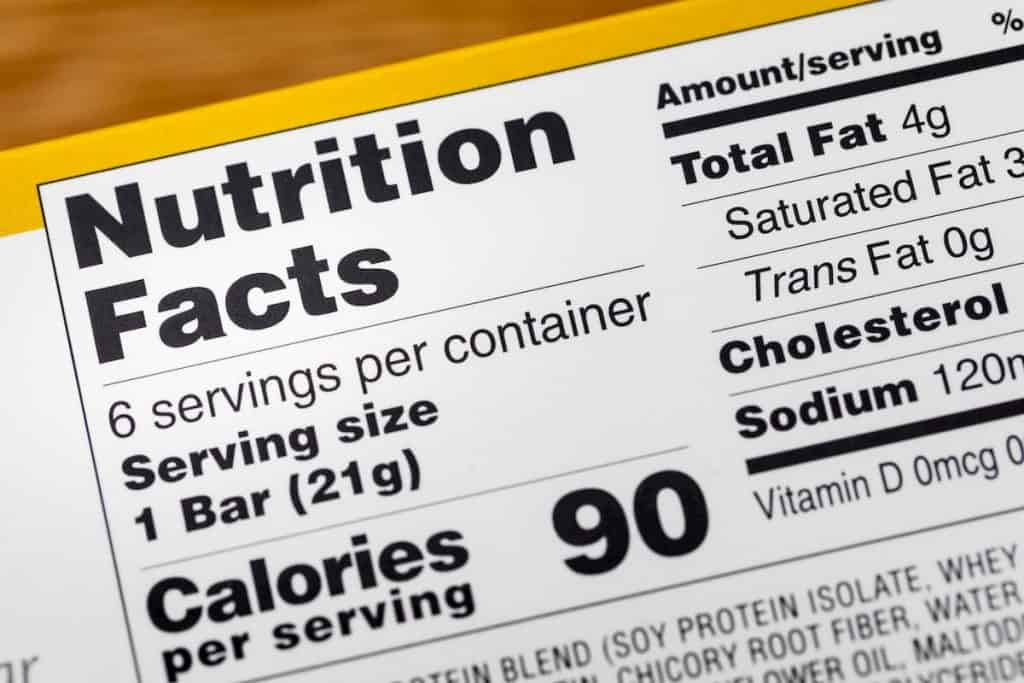 Nutrition facts serving calories label calories - Hidden Carbs In Keto Diet Foods
