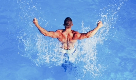 Can You Build Your Muscle Tone Through Swimming?
